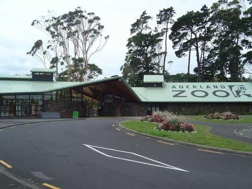 Auckland Zoo entrance