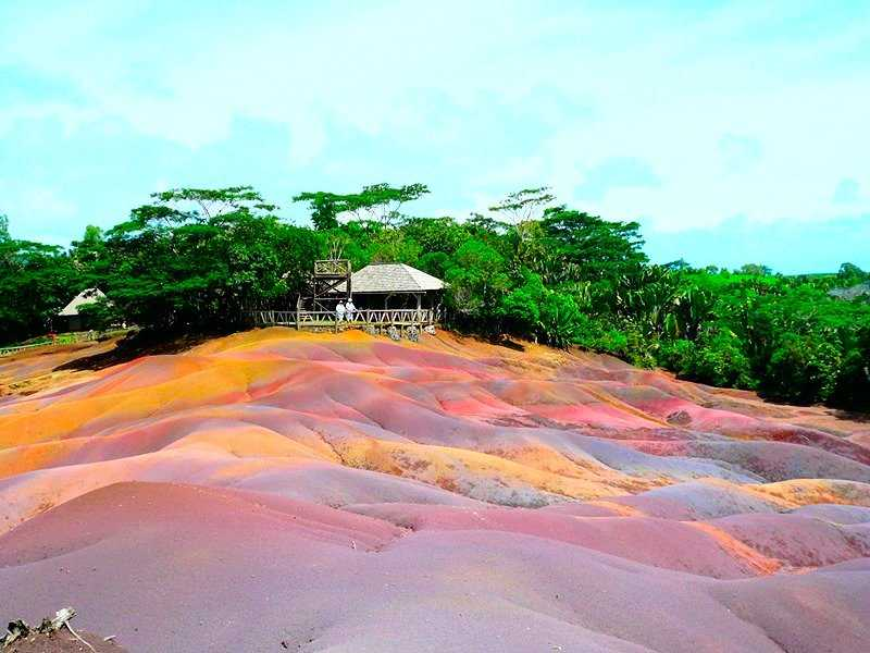 Seven Coloured Earth in Mauritius