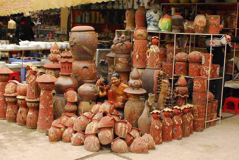 Bat Trang Pottery Village Products