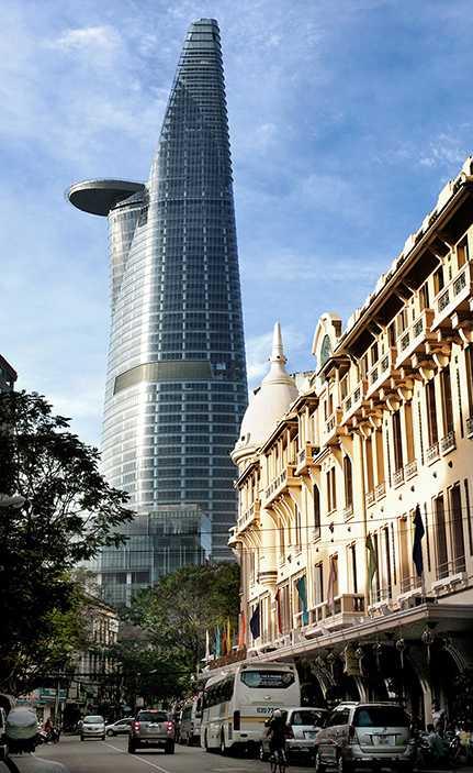Saigon Skydeck and Bitexco Financial Tower, Ho Chi Minh City