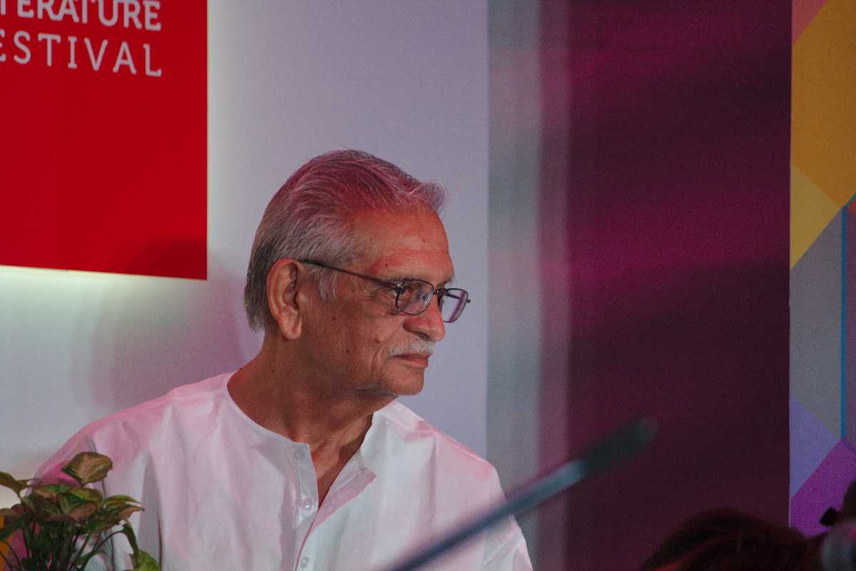Gulzar at the Bangalore Literature Festival