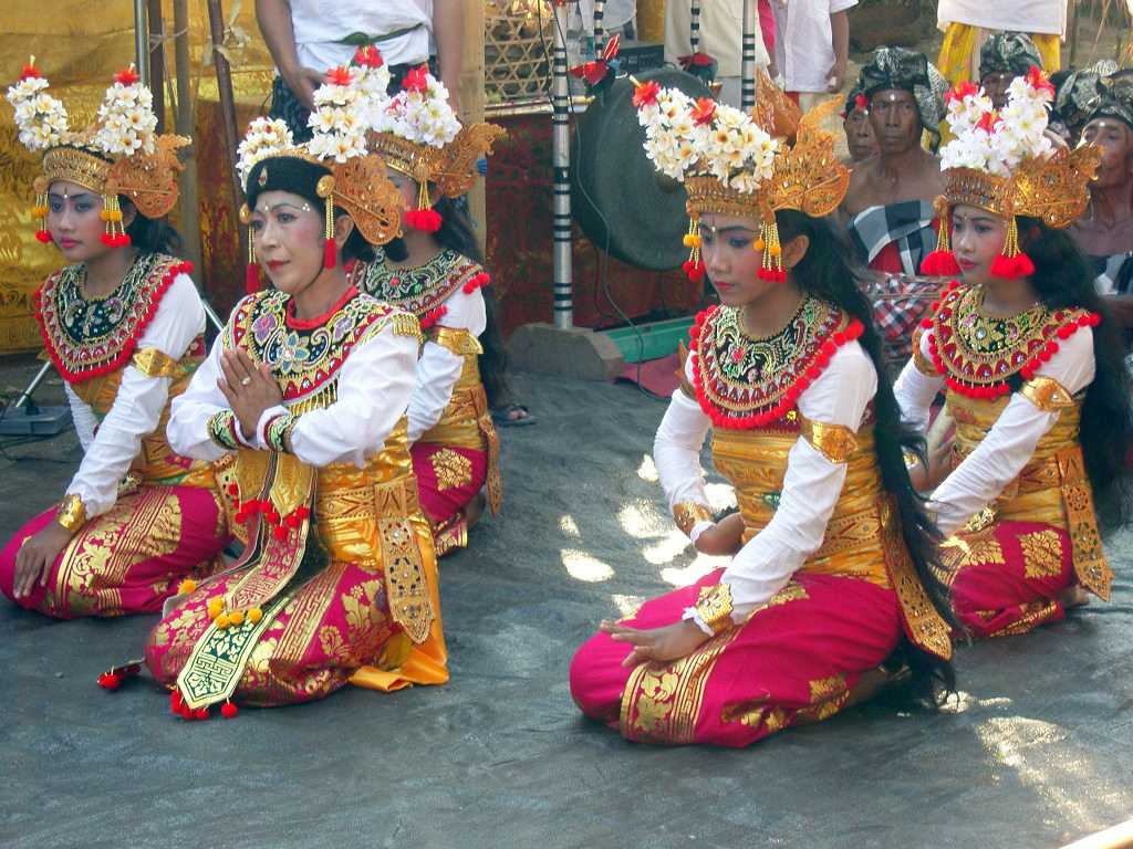 Gambuh, a form of dance-drama in Balinese Culture