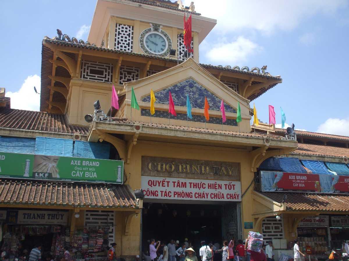 Binh Tay Market Ho Chi Minh City Vietnam