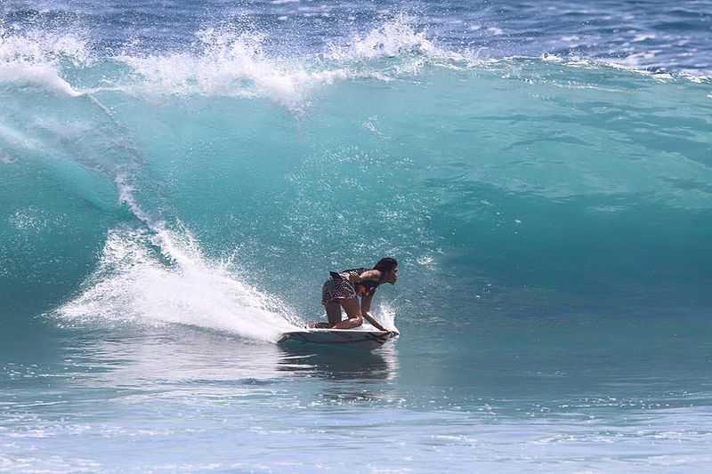 Surfing in Bali, Balangan Beach