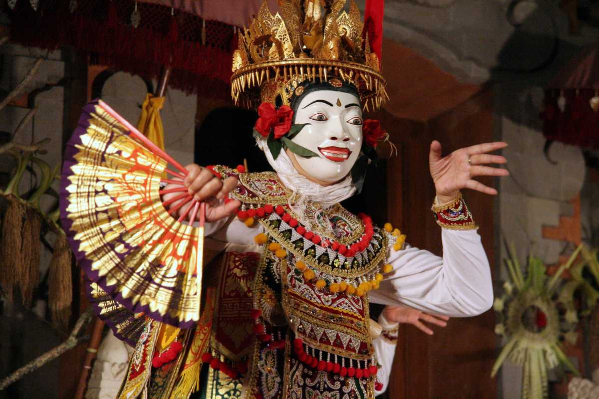 Topeng Dance, the Balinese Mask Dance