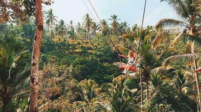 Tegalalang Rice Terraces Swing