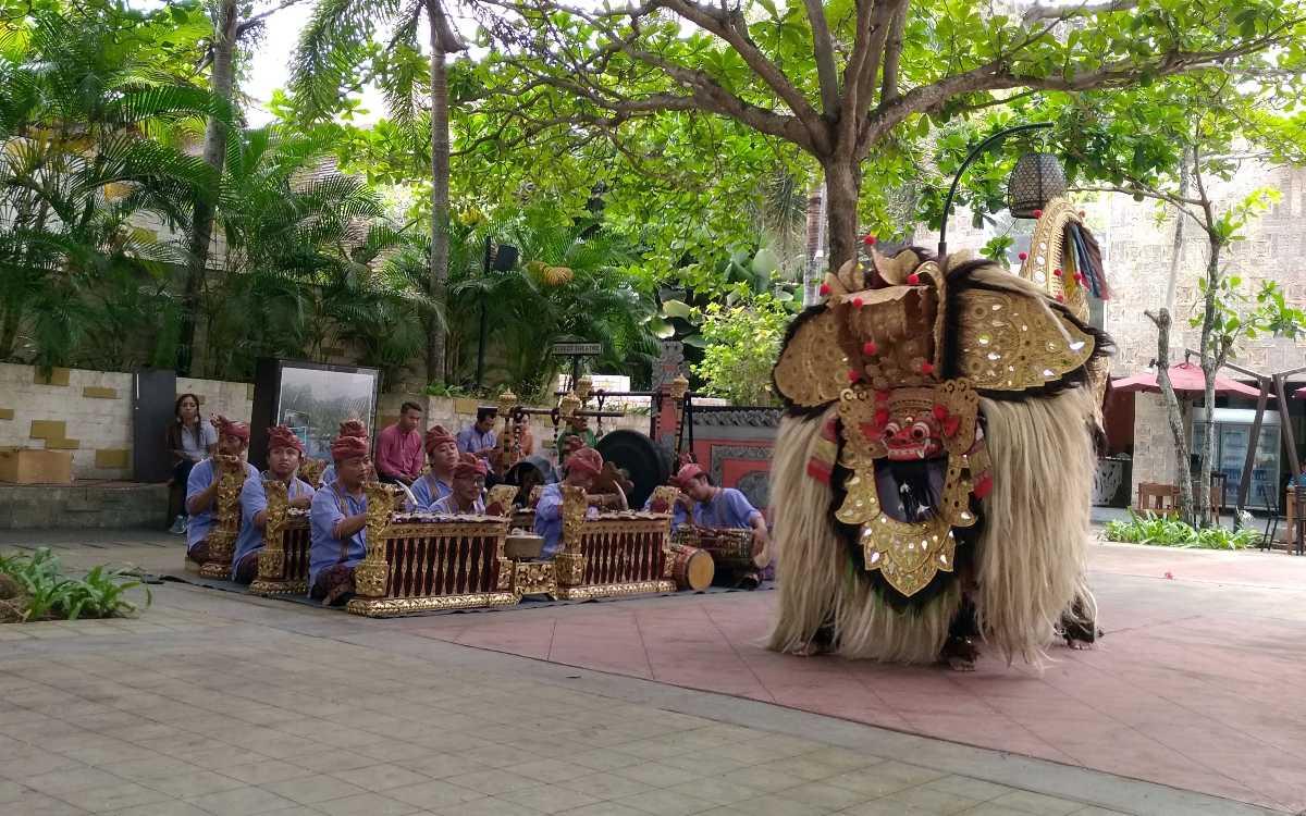 Barong, a Dance Drama in Balo