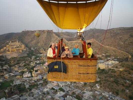 jaipur hot air balloon