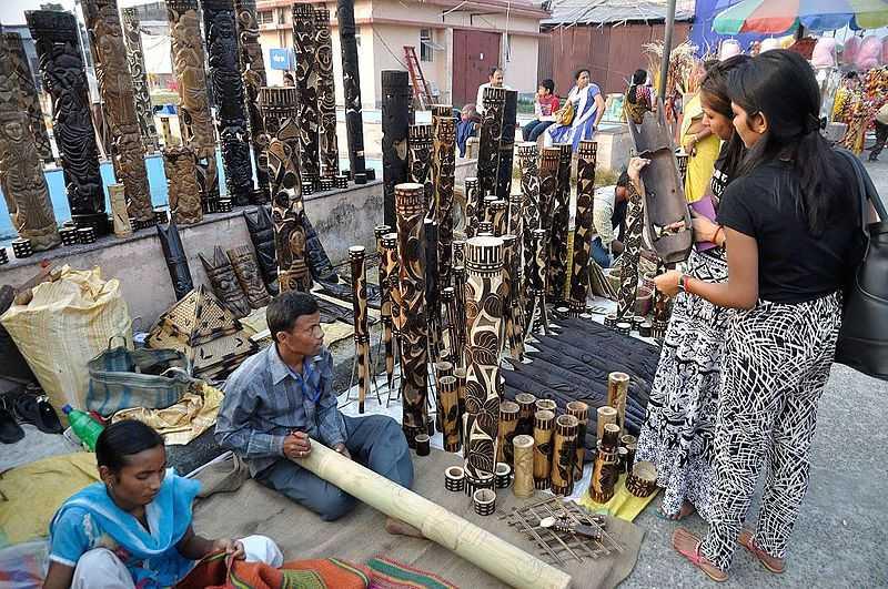 Bamboo Handicrafts, Handicrafts of India