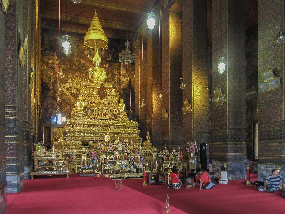 Phra Ubosot at Wat Pho