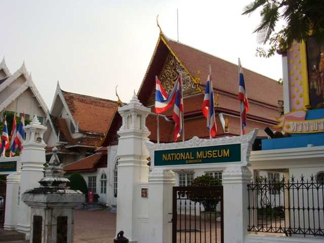 The National Museum in Bangkok Thailand