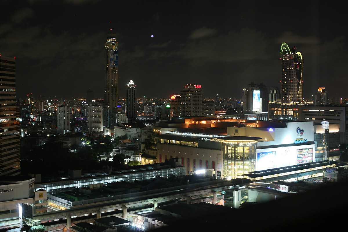 Siam Square at Night