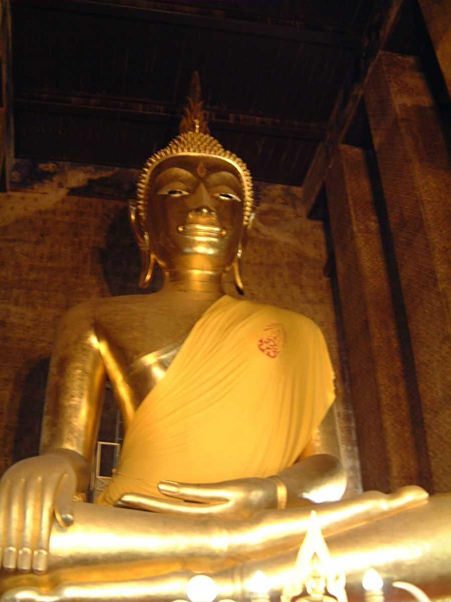 Buddha Statue at Wat Kalayanamitr