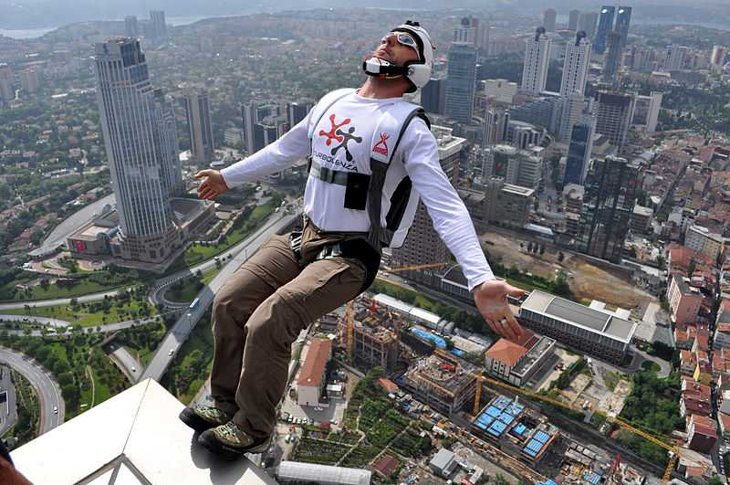 Base Jumping, 12 Of The Most Dangerous Adventure Sports In The World