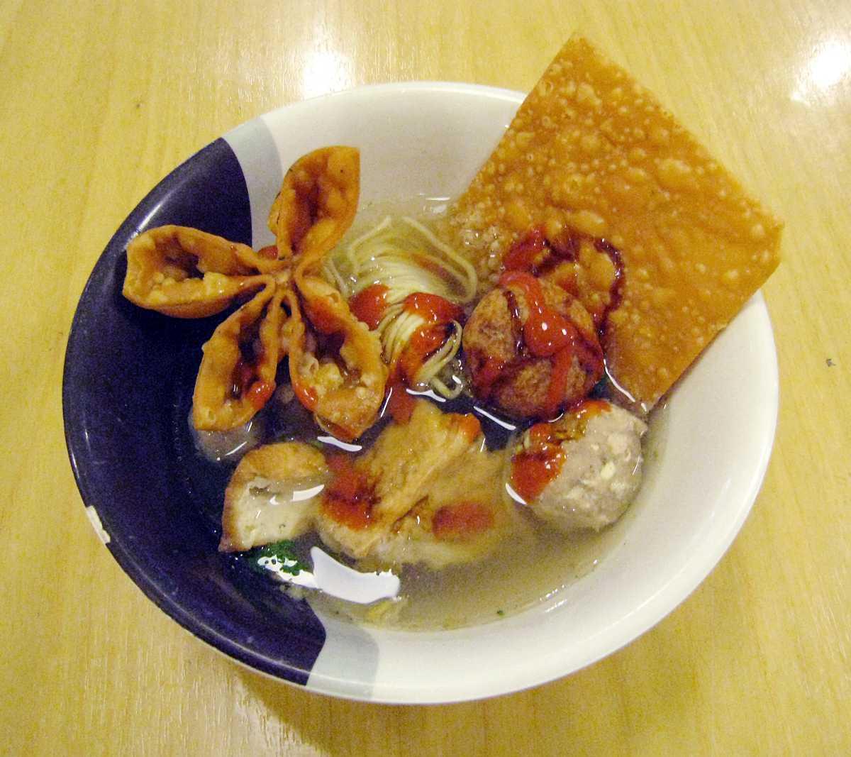 Bakso, Street Food in Bali