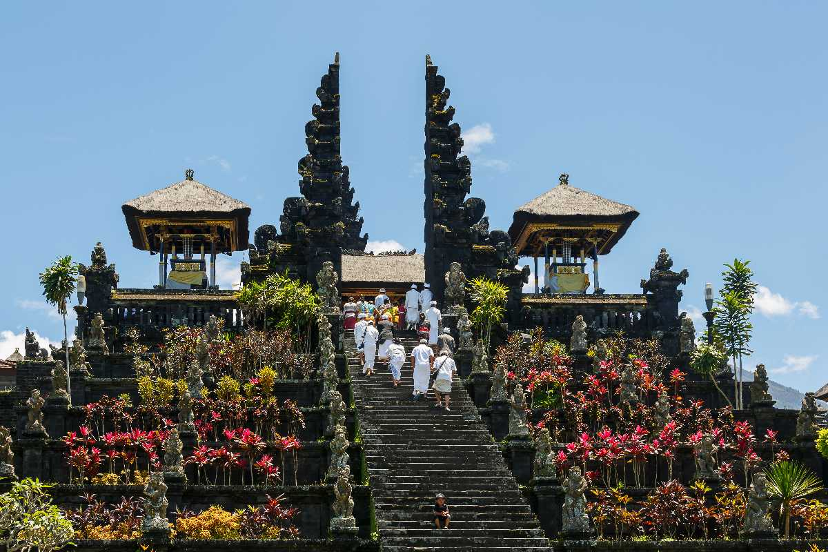 Pura Besakih, the Mother Temple considered one of the most important temples in Balinese Culture