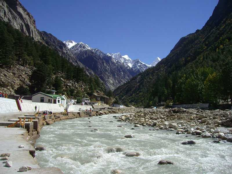 bhagirathi river, River Rafting Spots in India