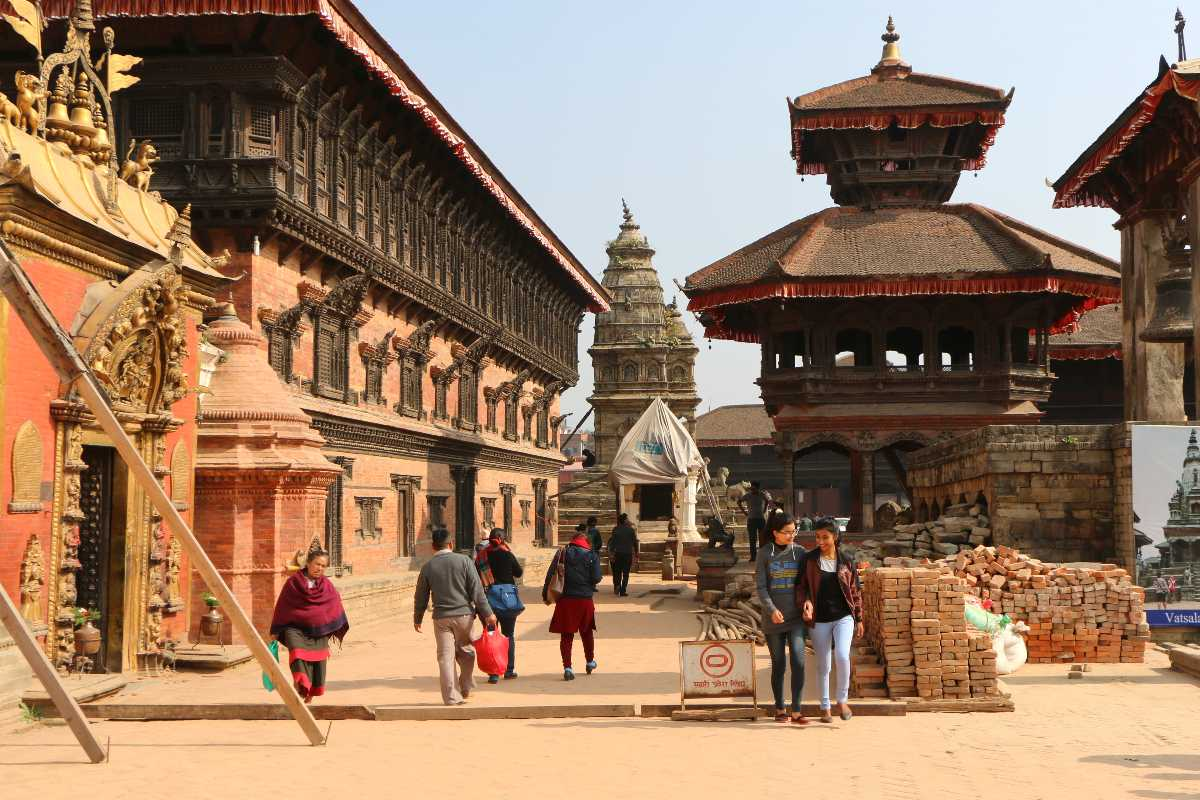Bhaktapur Nepal is home to many temples