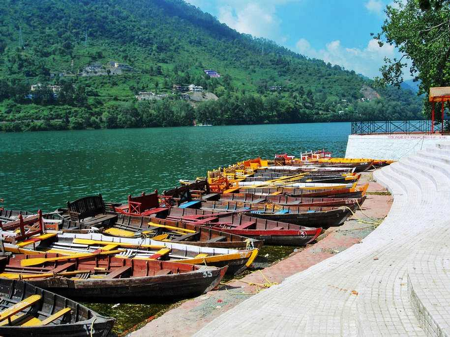 Bhimtal, Boating in India