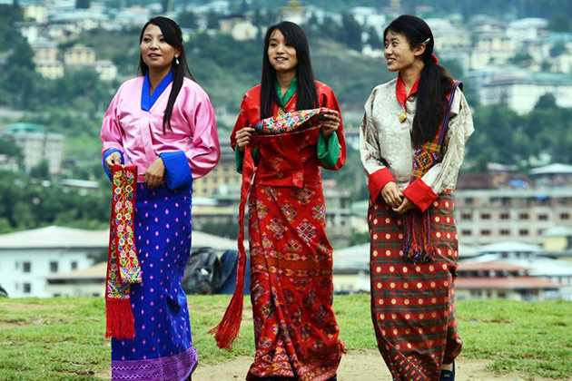 National Dress of Bhutan