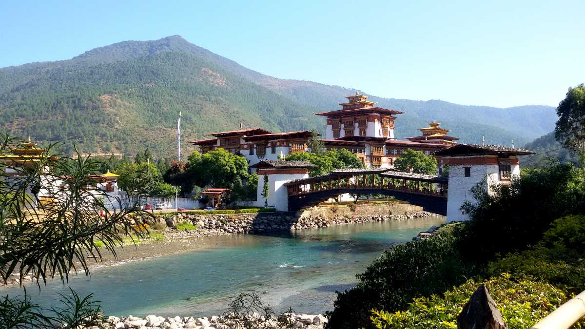 India To Bhutan By Road Flight How