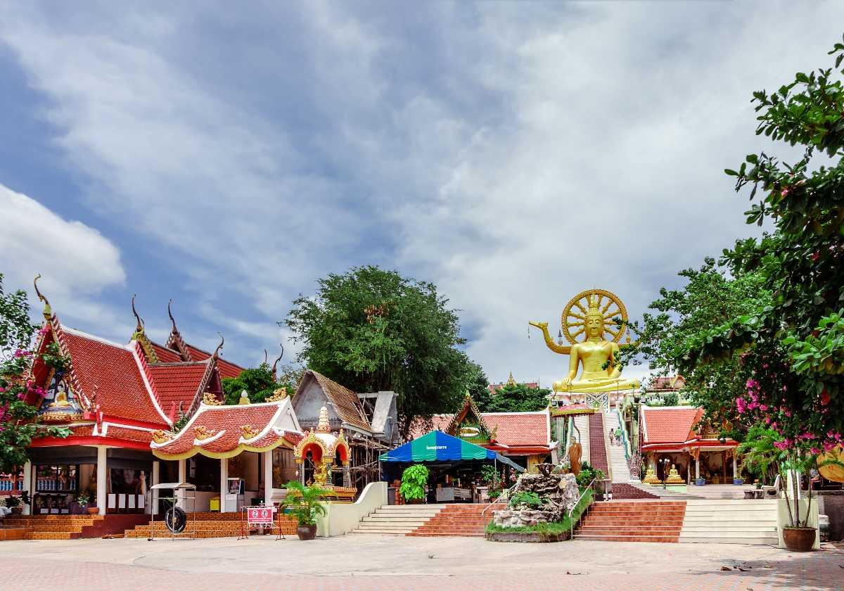Temple Complex of Wat Phra Yai Koh Samui