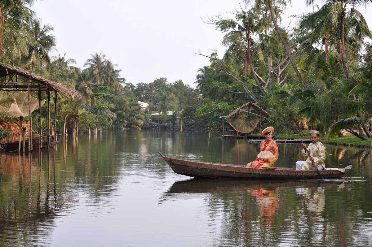 Binh Quoi Tourist Village on Saigon River