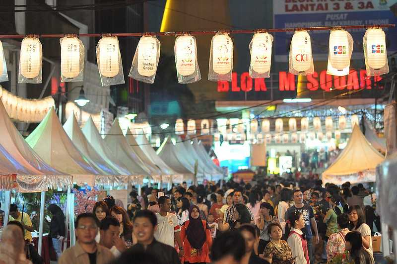 Best places to shop in Jakarta Blok M Square