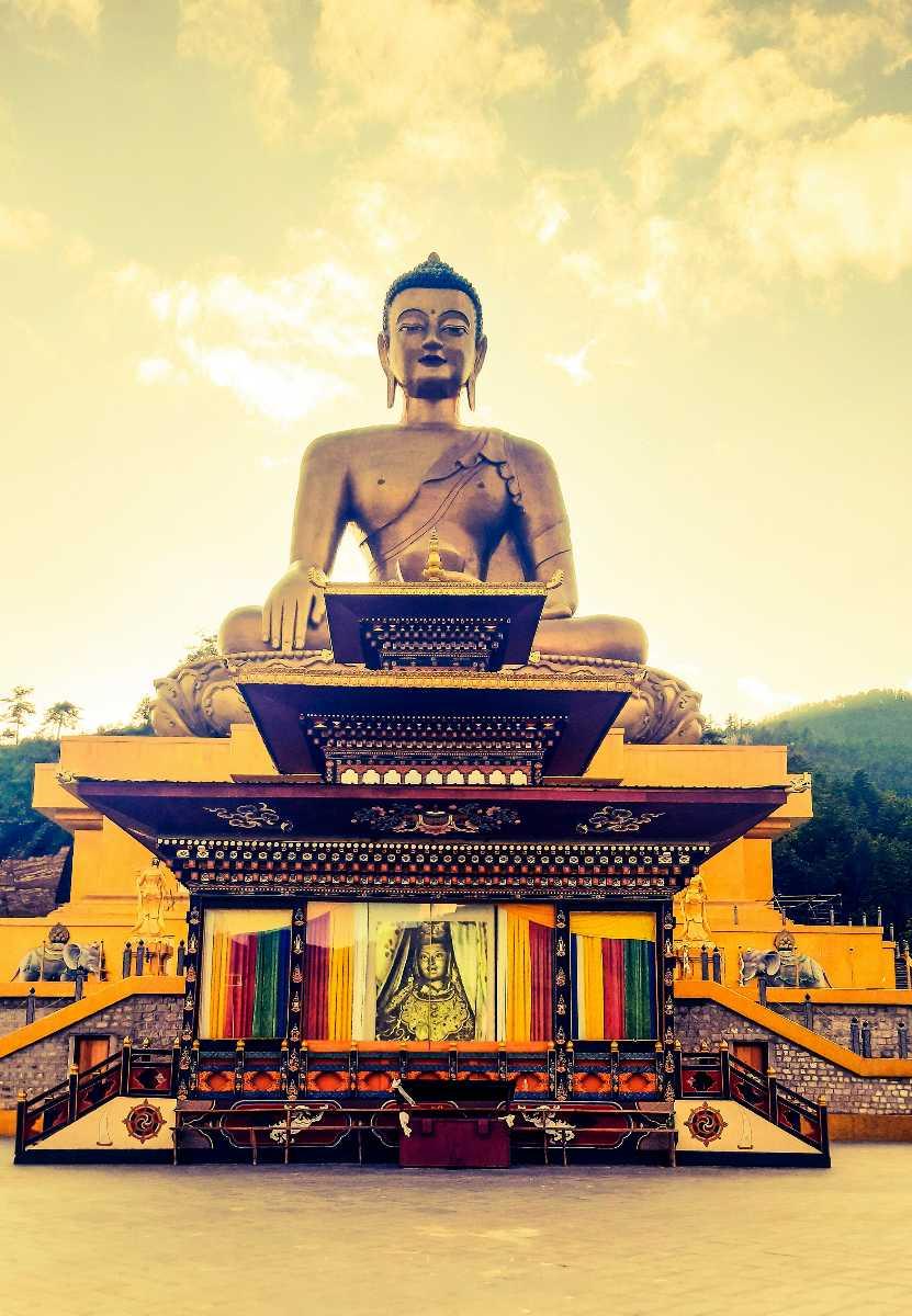 Budhha Temple in Paro