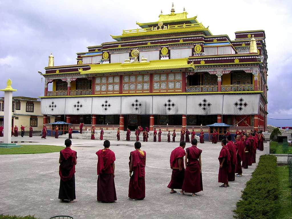 Buddhist Temple in Sikkim