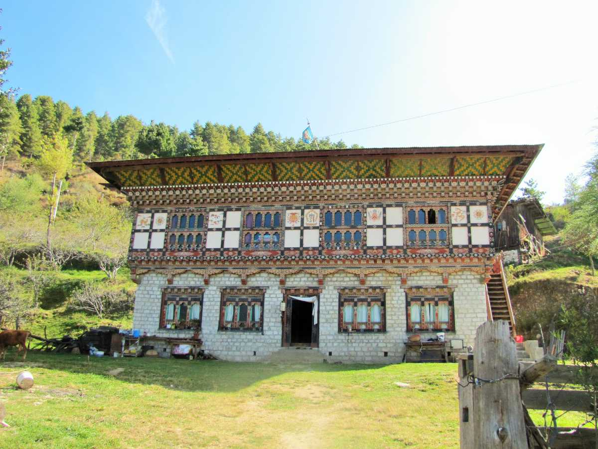 Farmhouses in Paro