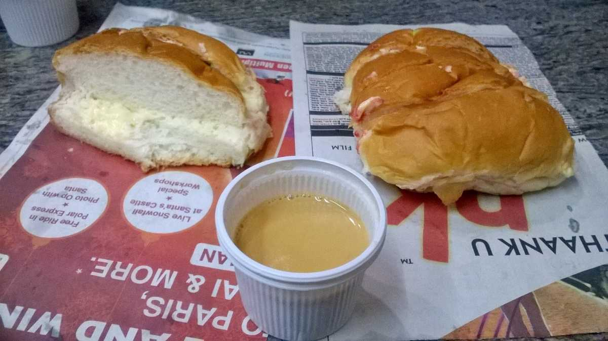 Bun Maska - Street food in Udaipur