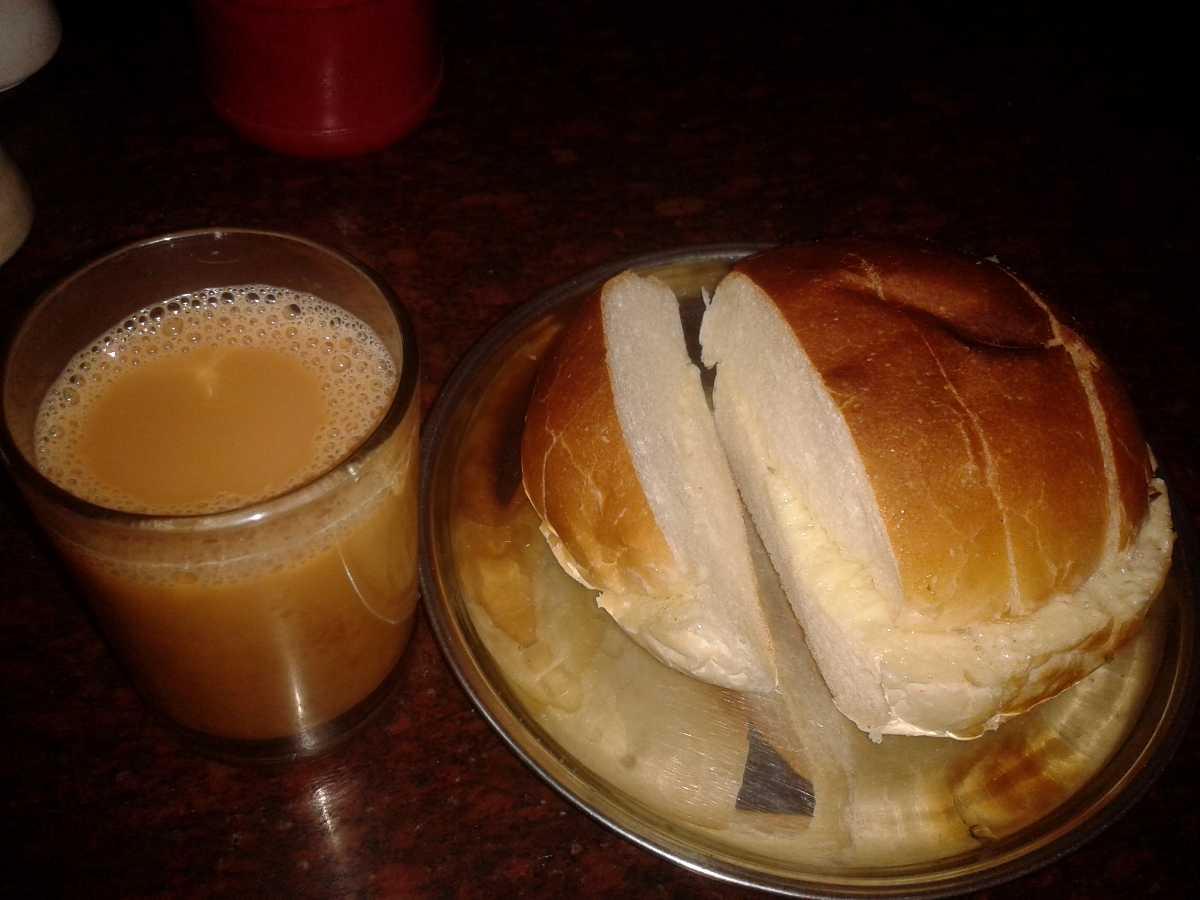 Bun Maska Chai