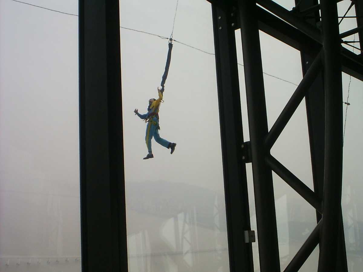 Bungy Jump, Macau Tower