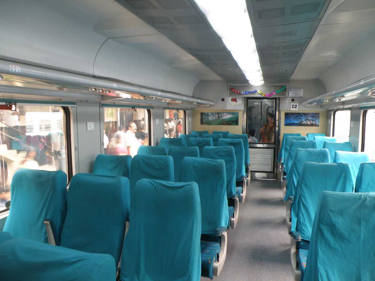 kota shatabdi, ten superfast trains india