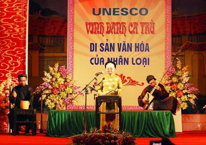 Vietnamese Culture, Folk Music in Vietnam, Ca Tru