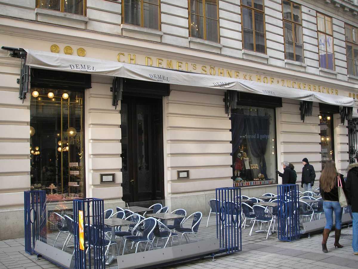Demel Cafe, Vienna