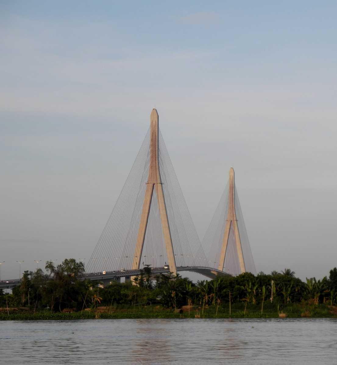 Can Tho bridge in Vietnam
