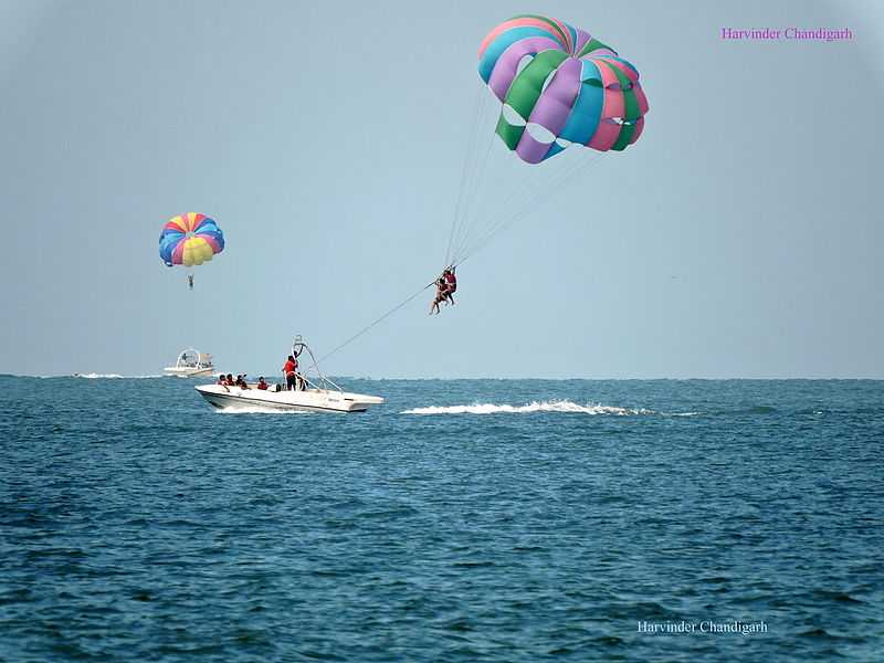 10 Best Beaches For Parasailing In Goa Cost Best Time Holidify