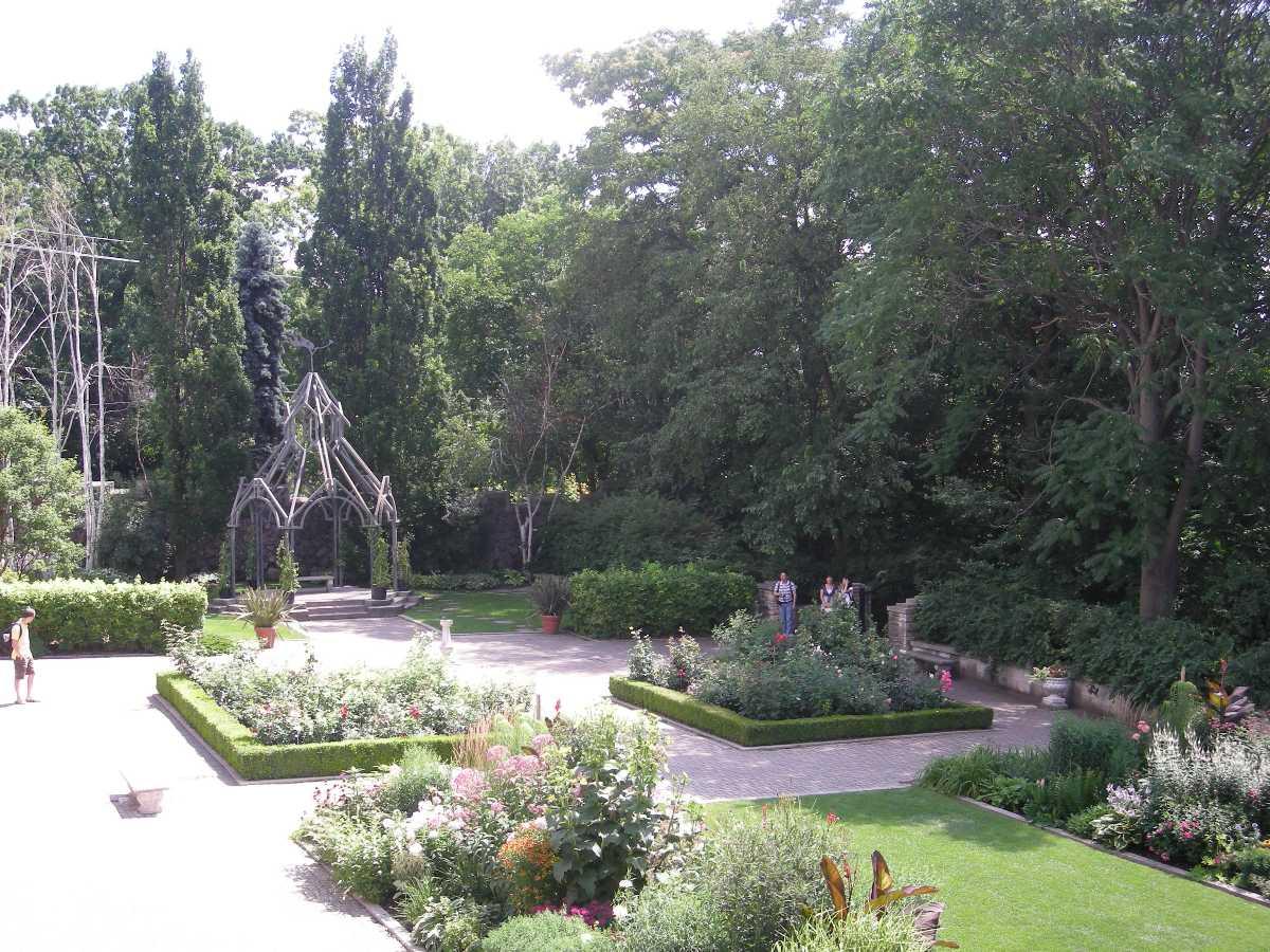 The Royal Botanical Gardens.