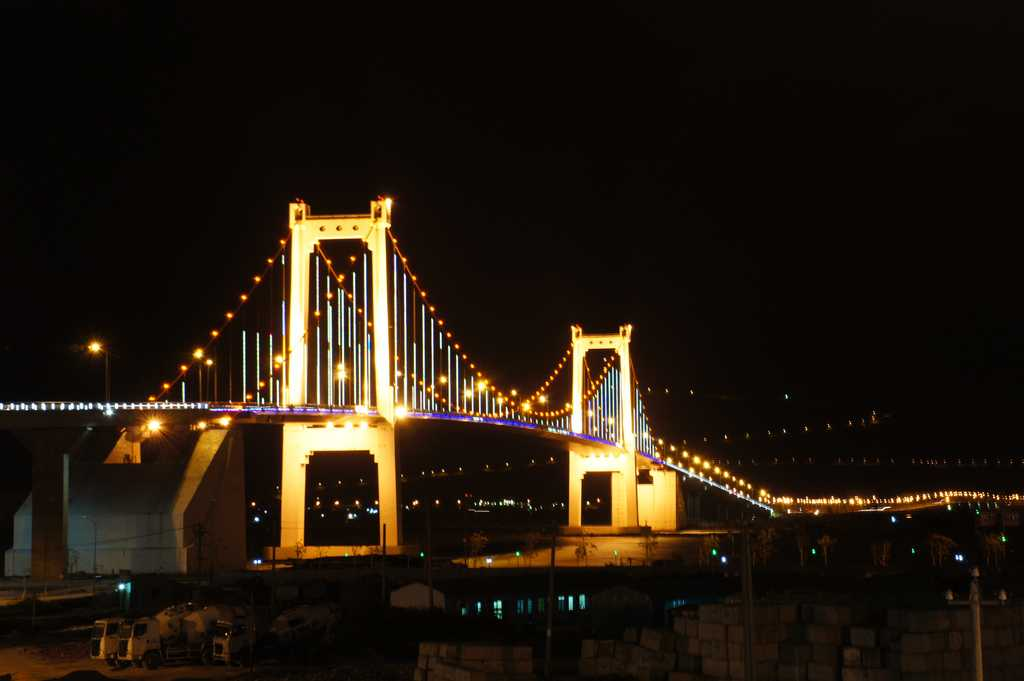 Thuon Phuoc bridge in vietnam