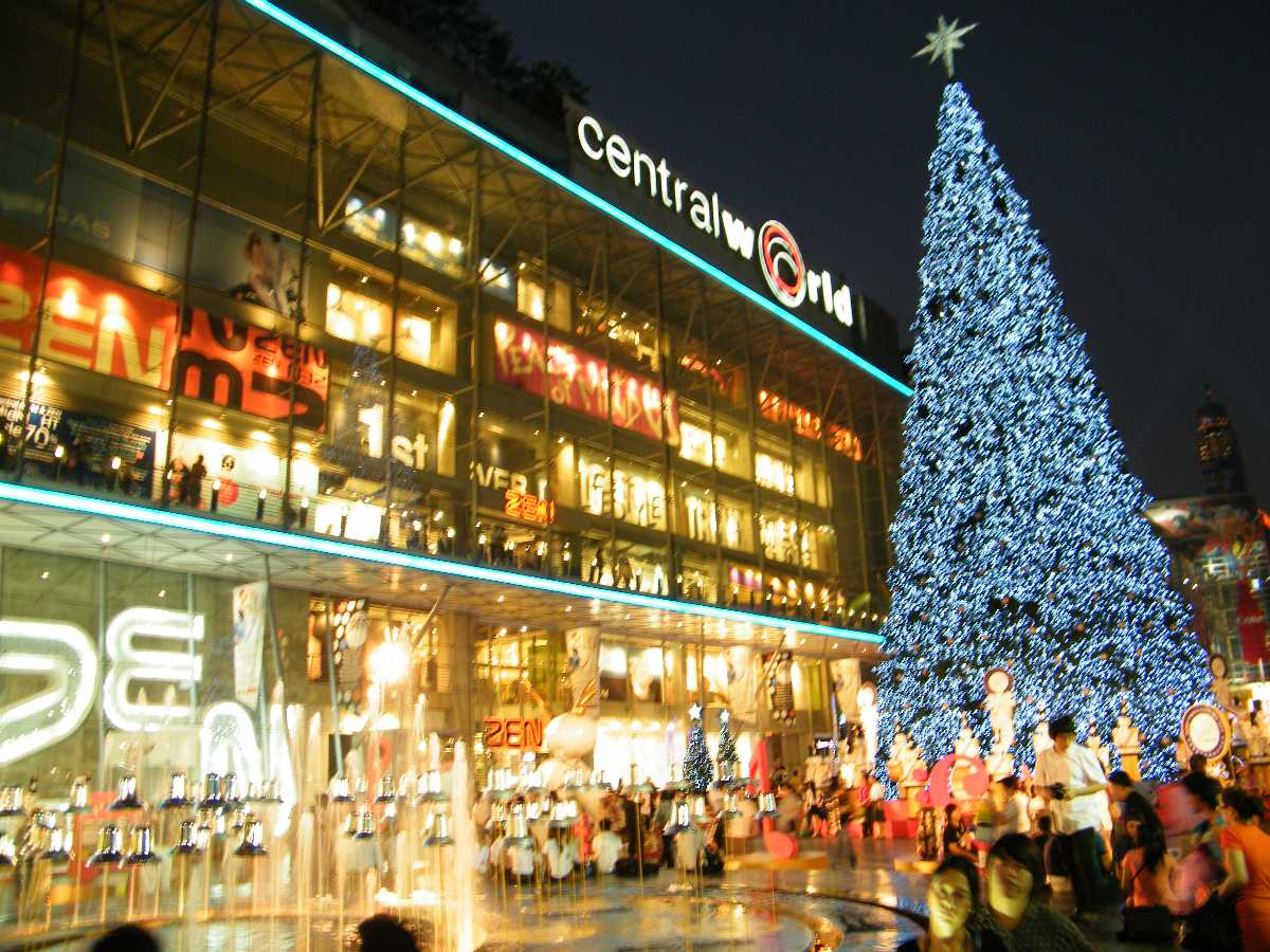 central world, bangkok, shopping in thailand