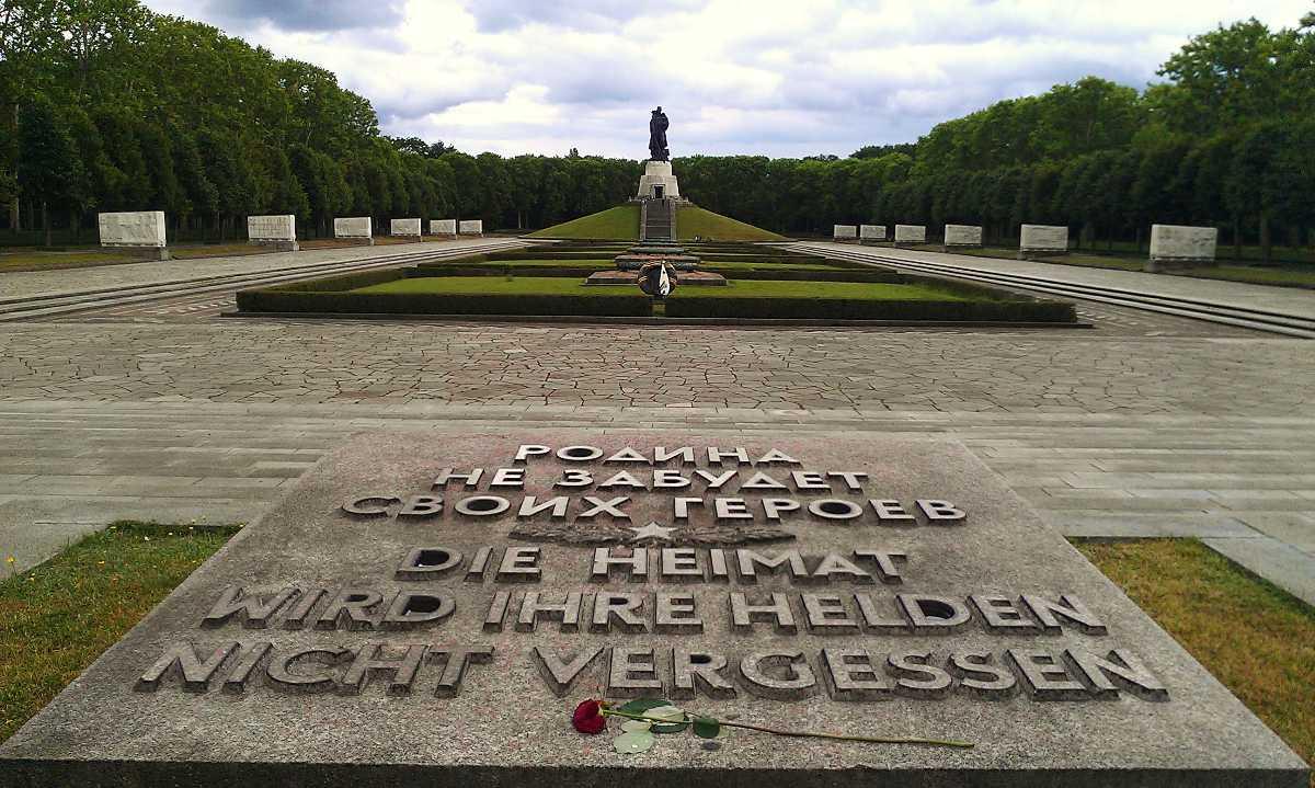 Soviet war memorial in Treptower Park, Berlin