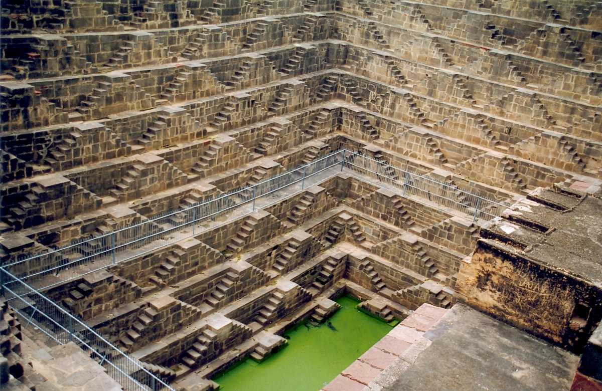 Chand Baori, Rajasthan, Stepwells in India