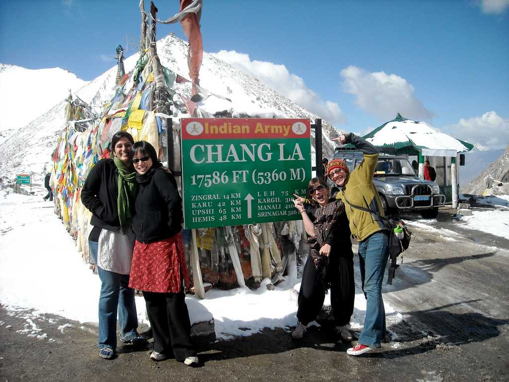 Chang La Pass - Third highest pass in India