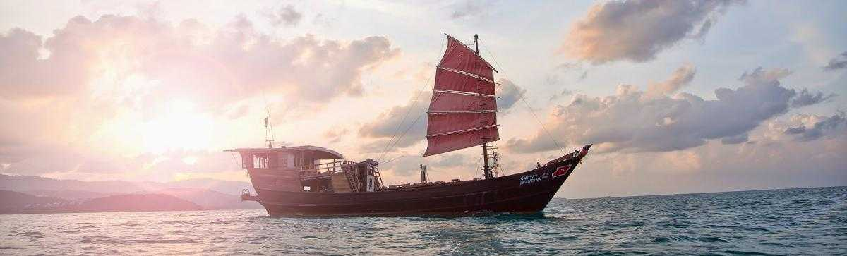 Sunset Cruise, Family Places in Koh Samui