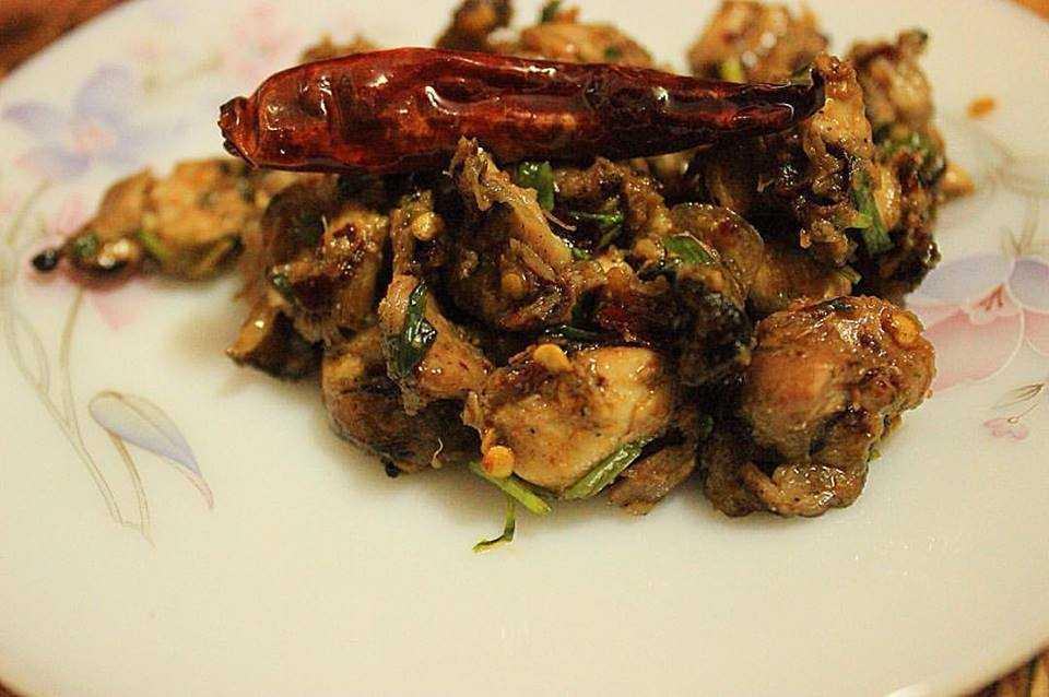 Pork Choila