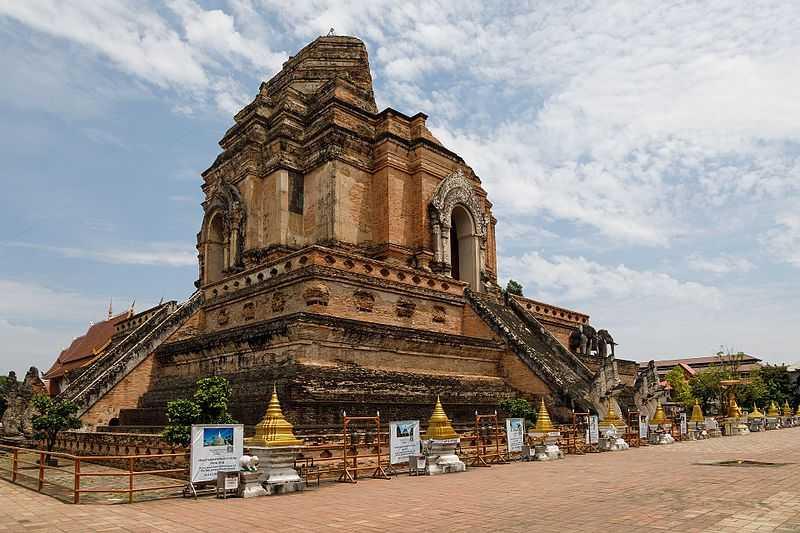 Wat Chedi Luang, Ruins of Thailand