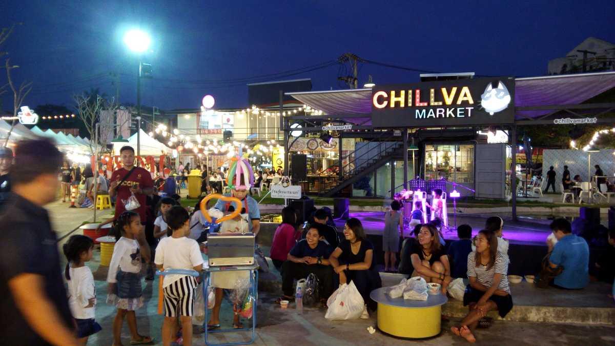 Chillva Market, Shopping in Phuket