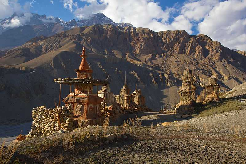 Upper Mustang view, Trekking in Nepal